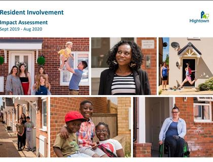 Resident Involvement Impact Assessment 2019-20