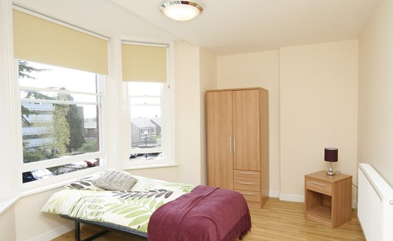 Open Door bedroom