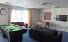 The Elms games room