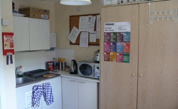 Kent House kitchen area