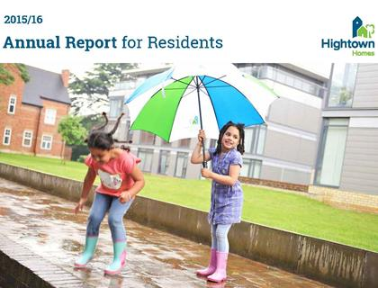 Annual Report to Residents 2015/16