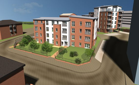CGI of Elmshall Place